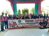OSIS SMK Assa'adah Gandeng PMR Adakan Donor Darah