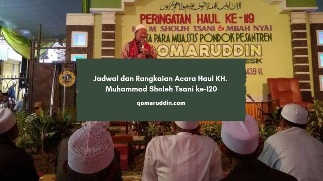 Jadwal dan Rangkaian Acara Haul KH. Muhammad Sholeh Tsani ke-120